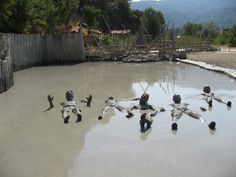 Mud baths Turkey