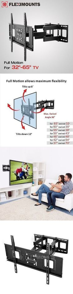 TV Mounts and Brackets: Articulating Swivel Lcd Led Full Motion Tv Wall Mount 32 40 42 46 55 60 65 -> BUY IT NOW ONLY: $47.59 on eBay! #LCDtvwallmount