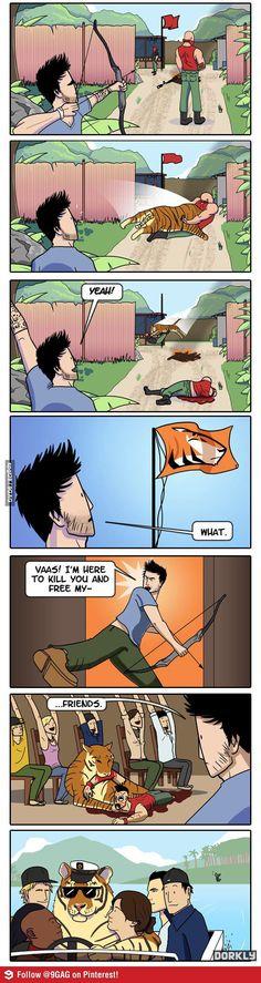 far cry 3 humor. True story.