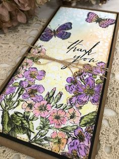 Richele Christensen: Flower Garden Card - Ranger Guest Artist