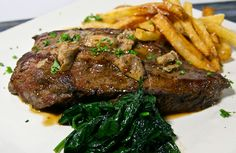 HUNK o steak!!!  www.whatscookingwithdoc,com  jefenster