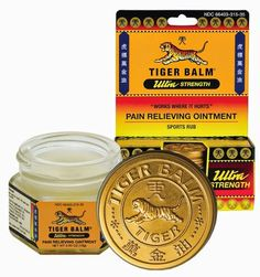 Will Run For Ice Cream: Feeling The Power Of Tiger Balm review and #Giveaway!