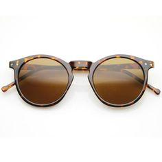 1920's P3 Dapper Vintage Inspired Round Sunglasses 8637
