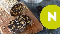 Nutellás-mogyorós kekszszalámi recept | Nosalty Nutella, Cookies, Chocolate, Food, Youtube, Crack Crackers, Biscuits, Essen, Chocolates