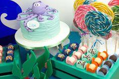 Kit Doces da Piece of Cake para Festeirice - diversos temas de doces que combinam com Kits para Decoração - para fazer uma festa fácil e linda em casa. #bolodecorado #bolofundodomar #fundodomar #festainfantil #docedefesta