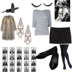 """edie sedgwick halloween costume"" by hollyanne on Polyvore"