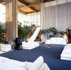 The Cement Factory Loft in Barcelona by Ricardo Bofill - Design Milk Interior Exterior, Interior Architecture, Ricardo Bofill, Warehouse Apartment, Empty Spaces, Medieval Castle, Interior Decorating, Interior Design, Inspired Homes