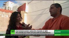 """Español enfermo: """"No quiero caridad, quiero mi tratamiento"""""""