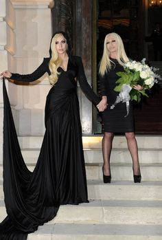 Want to be part of the Couture Crowd? See who's front row at the Spring 2014 Couture shows! Lady Gaga & Donatella Versace