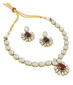 Maroon Stone Indian Bollywood Gold Plated Ethnic Traditio... https://www.amazon.com/dp/B06Y2CZ9FH/ref=cm_sw_r_pi_dp_x_nFPlzbX51AWZD