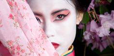 geisha make up fashion editorial - Google Search