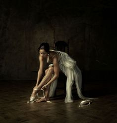Ballerina of Dutch National Ballet - Photo by Erwin Olaf