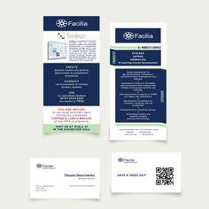 [ Еврофлаер + визитные карточки для Facilia International ]  #redbrushdesign…