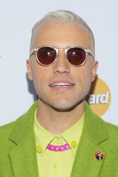 Tyler Glenn : Neon Trees Singer: How I Told My Dad I'm Gay.  Full story: http://time.com/2861571/neon-trees-singer-how-i-told-my-dad-im-gay/