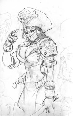 pirate chick by MiaCabrera on DeviantArt Fantasy Character Design, Character Design Inspiration, Character Art, Drawing Sketches, Art Drawings, Transférer Des Photos, Bd Comics, Desenho Tattoo, Art Reference Poses