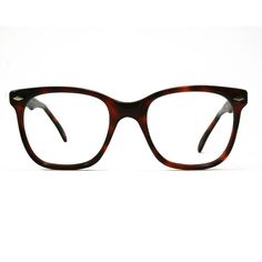 Meitzner Palma Br Nerd-glasses ($180) ❤ liked on Polyvore