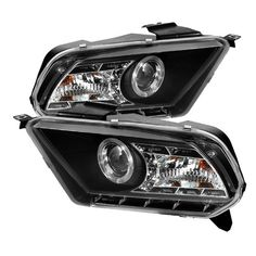 Spyder Auto PRO-YD-FM2010-DRL-BK Ford Mustang Black Halo DRL LED Projector Headlight - http://musclecarheaven.net/?product=spyder-auto-pro-yd-fm2010-drl-bk-ford-mustang-black-halo-drl-led-projector-headlight