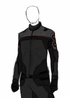 Union (joint Alliance/Coalition forces) uniform is a mix of the simple Coalition jumpsuits and the more elaborate and decorative Alliance uniforms.