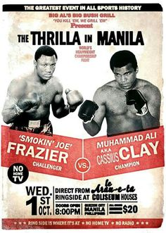 The Greatest Event In All Sport Frazier Vs Muhammad Ali Fridge Magnet Muhammad Ali, Kickboxing, Sports Illustrated, Muay Thai, Jiu Jitsu, Boxe Fight, Boxe Fitness, Boxe Mma, Thrilla In Manila