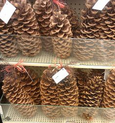 Upcycled Stuff: DIY Cinnamon Pinecones