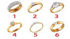 Válassz egy gyűrűt, és kiderül, milyen nő vagy igazából! - napistori Son Luna, Bangles, Bracelets, Fitness, Gold Rings, Wedding Rings, Engagement Rings, Jewelry, Diet Tips