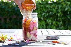 Rose Petal Honey #Recipe (Drizzle on a Saffron Yogurt Mousse #Dessert ...
