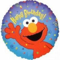 Elmo Loves You Foil Balloon Contains 1 Elmo Loves You foil balloon. This is an officially licensed Elmo product. Weight (lbs) Length (inches) 11 Width (inches) 8 Height(inches) Birthday Party Supplies Blue One Size Birthday Unisex All Ages Happy Birthday Balloons, Elmo Birthday, Happy Birthday Parties, Birthday Party Decorations, Party Favors, Dinosaur Birthday, Birthday Ideas, Sesame Street Party Supplies, Kids Party Supplies