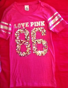 Victoria's Secret Pink Bling Tee | eBay