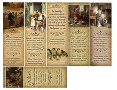 Printable Bookmarks - Free Download - Time-Warp Wife | Time-Warp Wife