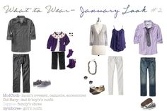 purples and greys