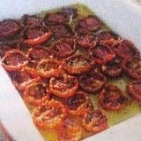Store Tomatoes in Olive Oil by Nancy Gaifyllia, greekfood.about.com: Similar to making sun-dried tomatoes, this is a lot easier and faster, and the tomatoes with their infused oil are a delicious condiment with meats, fish, and poultry - or as toppings. #Tomatoes #Olive_Oil  #Nancy_Gaifyllia