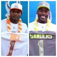 887999da2 Jairus Byrd and Mario Williams at the 2014 Pro Bowl Draft! Who will win