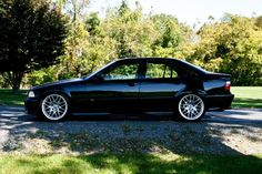 BMW E36 BLACK