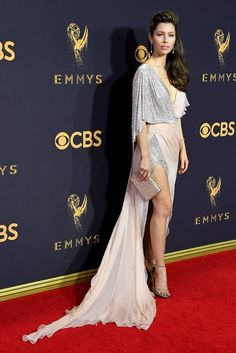 Jessica Biel in Ralph and Russo Couture | 2017 Emmys