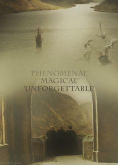 what dan, emma, and rupert said when they were asked to describe their hp expierence in one word.