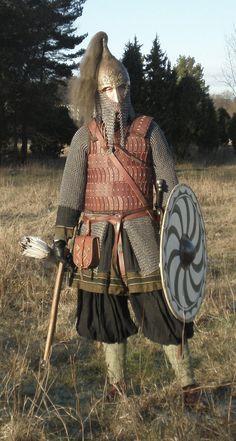 Rus warrior by *VendelRus on deviantART