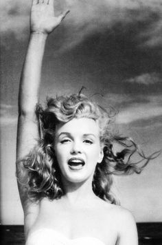 A young Marilyn Monroe _ Norma Jean