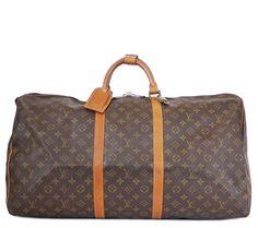Louis Vuitton Monogram Keepall 60 Travel Bag