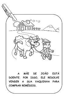 """CANTINHO DA TIA PRI: VARAL DE HISTÓRIA """"JOÃO E O PÉ DE FEIJÃO"""""""