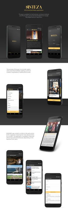 """Check out my @Behance project: """"Android & iOS News Application"""" https://www.behance.net/gallery/48316285/Android-iOS-News-Application"""