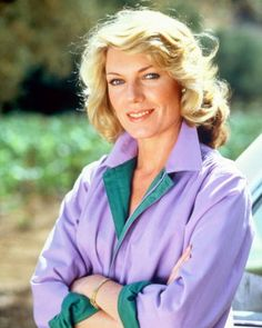 Susan Sullivan - this is what she looked like the first time I remember her on TV.  Lovely.