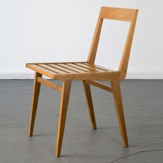 Joaquim Tenreiro; Pau Marfim Side Chair, 1950s.