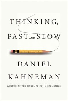 Thinking, Fast and Slow by Daniel Kahneman. Daniel Kahneman, recipient of the Nobel Prize in Economic Sciences for his seminal work in psychology that challenged the rational model of judgment and decision making, is one of our most important thinkers. His ideas have had a profound and widely regarded impact on many fields—including economics, medicine, and politics—but until now, he has never brought together his many years of research and thinking in one book.