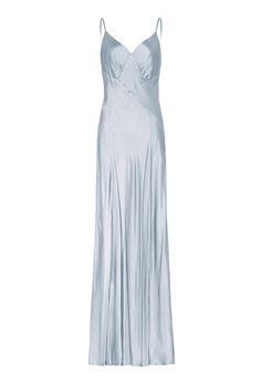 Sofia Dress Silver Lake   Ghost.co.uk