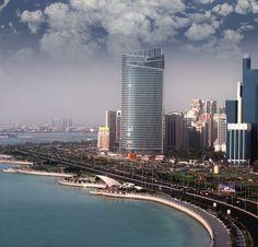 Abu Dhabi coastline, UAE. #abudhabi