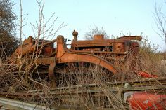 Ruston Bucyrus bulldozer