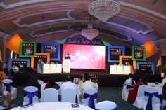 Greycells conducted the events at the annual Dalmia cements dealer's meet in Kolkata