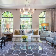 Soffbord Geometry Silver Hollywood Regency Style Interiors Pinterest And