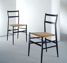The world is full of millions of dining chair designs, so my approach is always to ignore the masses and look for classics that stand the test of time. I find that this approach either leads me to cheap classic chairs or really expensive classic chairs — rarely is there anything in the middle. Currently we have chairs from Cherner and Thonet, as well as a gaggle of vintage French chairs. I've always wanted a Prouve Standard chair, and I've always wanted a Superleggera Chair. One day. One…