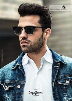 Urban Male, Beard Styles, Hair Styles, Greek Men, Awesome Beards, Men's Hairstyles, Pepe Jeans, Singers, Campaign